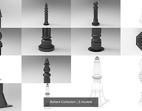 Bollard Collection 3D
