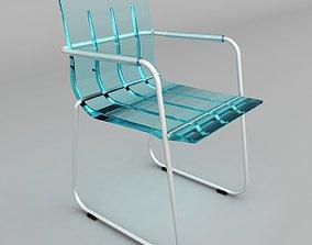 chair 001 3D asset