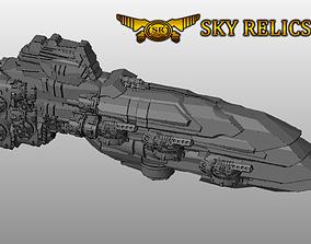 SKY RELICS - 24 Long Sword 3D print model