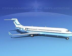 Comac ARJ21-700 Corporate 2 3D