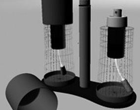 3D model spray cruet