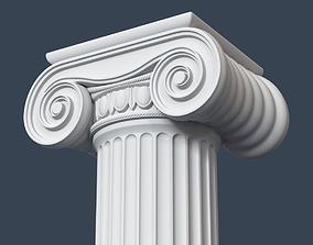 Ionic Column 003 3D model