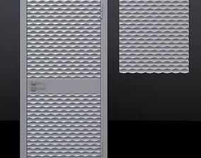 Door 1 and decorative panel 3D