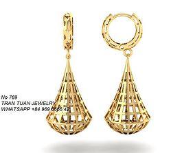 3D print model 769 Earrings for women