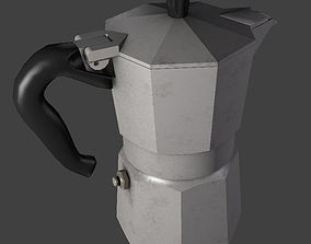 Moka Pot 3D model VR / AR ready