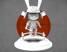 3D printable model Mini samurai