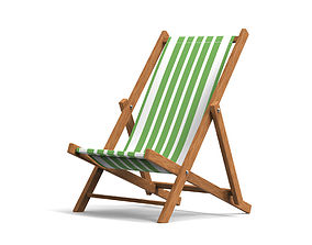 outdoor Beach Chair 3D model