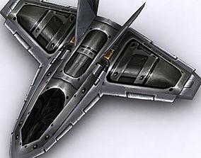 realtime 3DRT - Sci-Fi Fighter 10