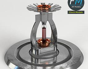 Fire sprinkler head 3D model
