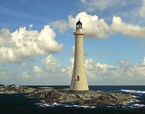 Skerryvore Lighthouse - simple version 3D model