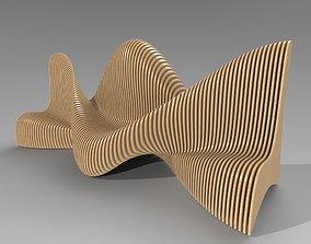 3D model Bionics bench variant 1