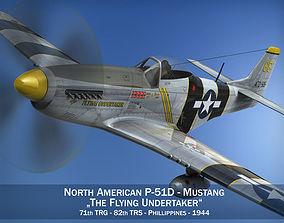 North American P-51D Mustang - Flying Undertaker 3D