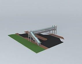 Pedestrian Bridge 2 3D