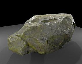 3D model Mossy Wet Stone