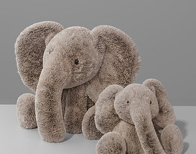 Jellycat Plush Animal - Smudge Elephant toy for kid 3D