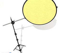 Collapsible Reflector 3D