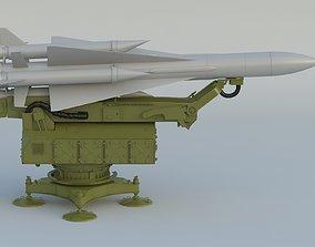 S-200 Missile Angara Vega Dubna SA-5 Gammon 3D model