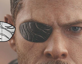 3D print model Thor eyepatch from Thor Ragnarok and 1