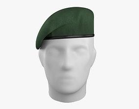 3D asset Commando Beret
