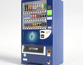 3D model Vending Machine 30 Button