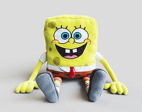 3D model Soft toy SpongeBob SquarePants