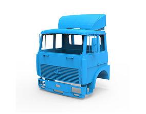 MAZ 5516 Cabin 3D print model