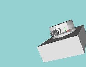 3D model minigun camp