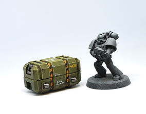 Wargaming Scenery - Weapon Crate 3D printable model