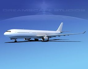 Airbus A330-300 Unmarked 1 3D model