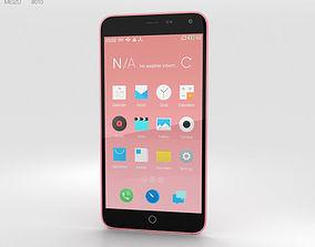 Meizu M1 Note Pink 3D model