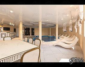 3D Swimming pool 06