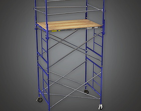 Production Scaffold - PBR Game Ready 3D asset