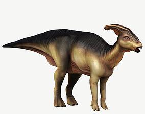 3D asset Parasaurolophus animals