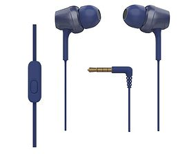 SONY MDR EX250APL EX MONITOR IN EAR HEADPHONE 3D model