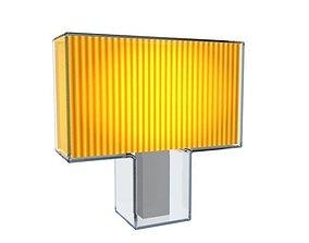 3D asset Kartell Tati Lamp