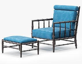 Julian Chichester Claremont Chair 3D model