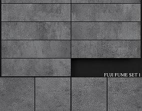 3D model Yurtbay Seramik Fuji Fume Set 1