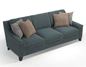 3D Bernhardt Furniture B8887 Norton Sofa