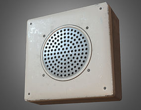 3D model Intercom - PBR Game Ready