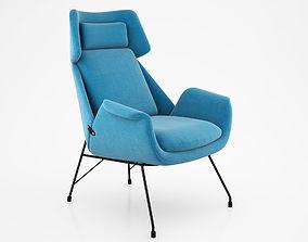3D Augusto Bozzi Lounge Chair