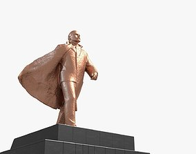 3D model Monument of Vladimir Lenin