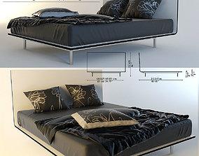 3D model Thin bed by Bonaldo