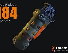 M84 Stun Grenade 3D asset