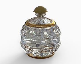 Bottle for perfumery 3D