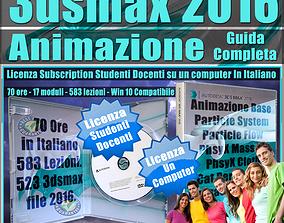 Corso 3ds max 2016 Animazione Guida Completa 1