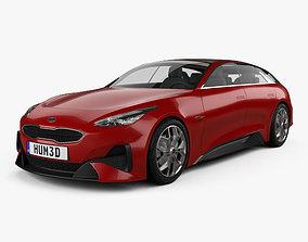 3D Kia Proceed 2017