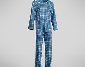 Male Pajamas 3D asset