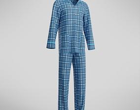 Male Pajamas 3D asset