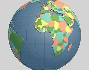 3D model Globe 03
