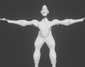 Male character Sclupt 3D printable model
